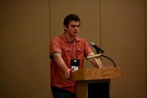 Student Alec Frey