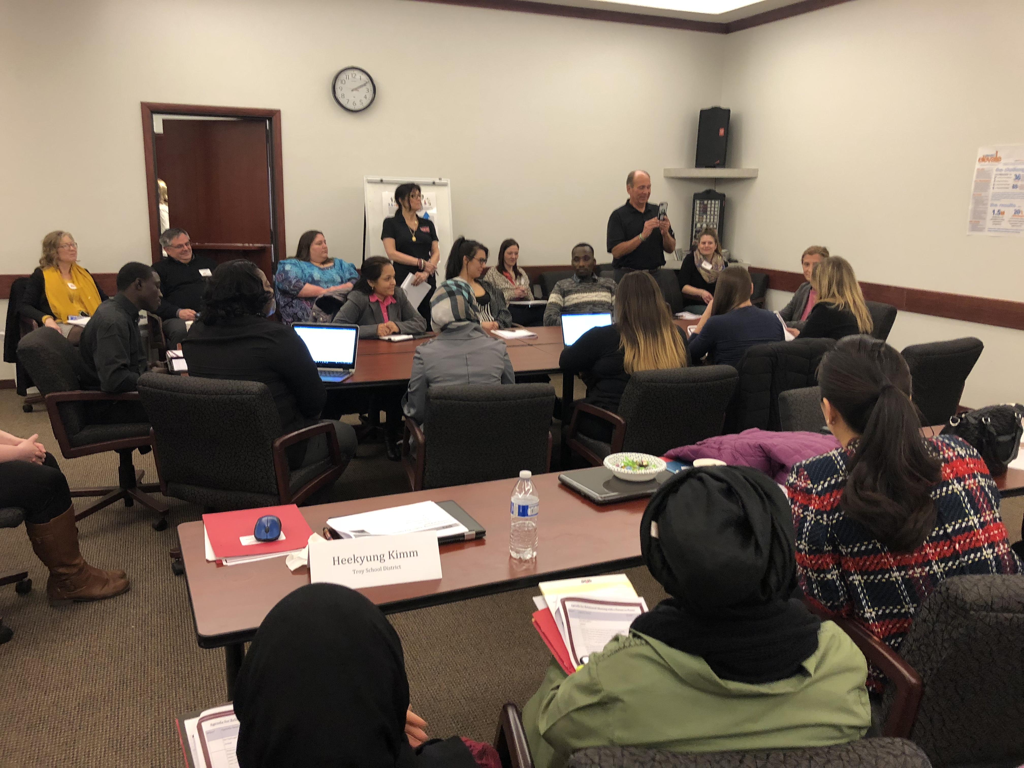 MACAE Committee Meetings