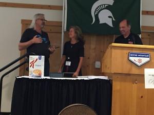 Randy Fry Mary Bob President Award 1